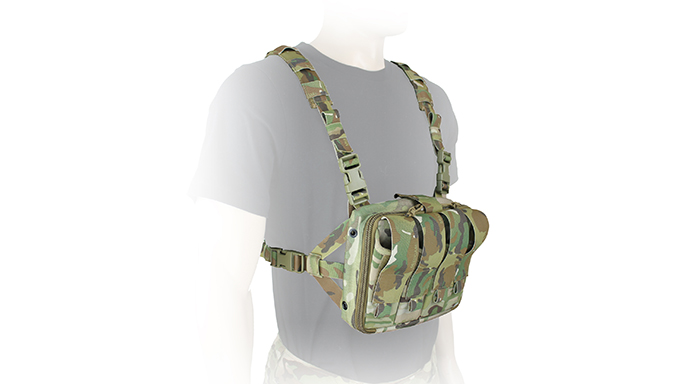 TYR Tactical's PICO-DS Medical Chest Rack STANDALONE
