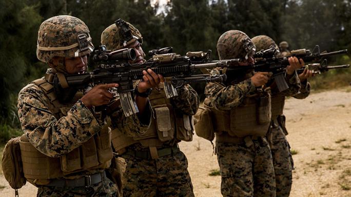 marines M27 infantry automatic rifle