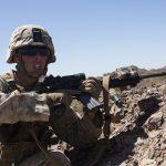 M27 rifle test