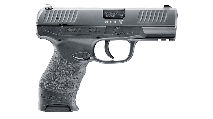 Walther Creed pistol right side
