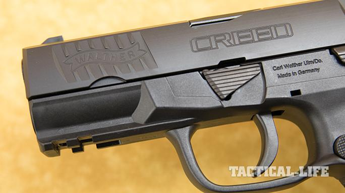 Walther Creed pistol trigger