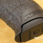 Walther Creed pistol mag well