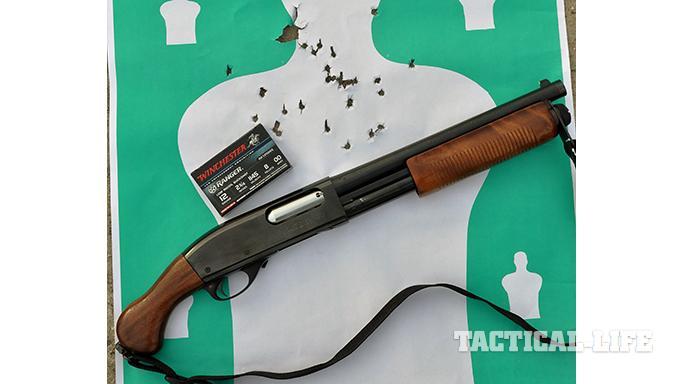 Witness Protection 870 shotgun target