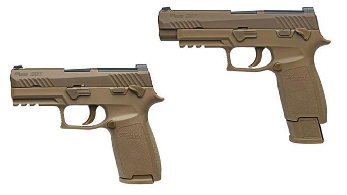 army handgun sig sauer p320 pistol us army 101st Airborne Division xm17