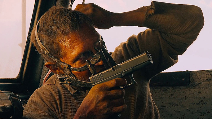 Tom Hardy guns Mad Max Fury Road