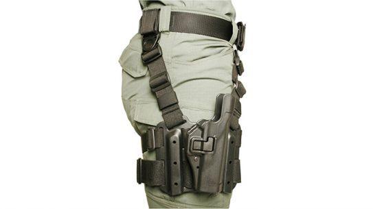 lapd holster ban blackhawk serpa holster leg