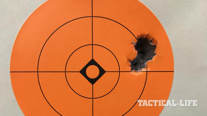 Beretta APX pistol target