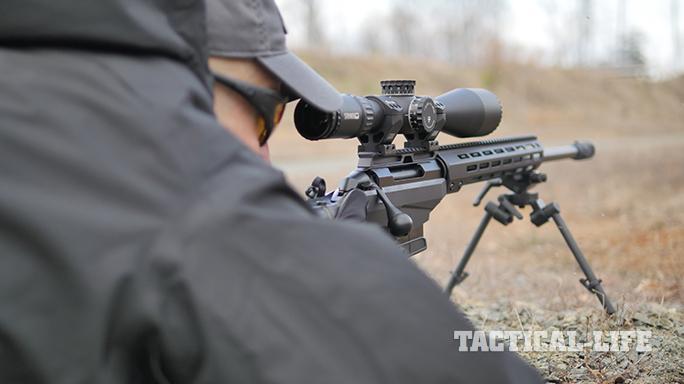 Beretta APX pistol and Tikka T3x TAC A1 rifle