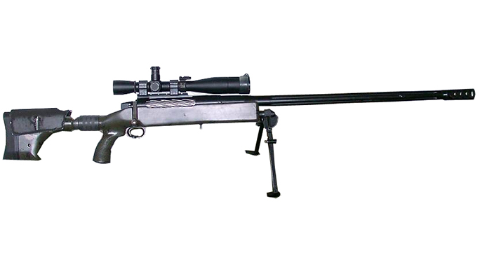 McMillan TAC-50 canadian sniper rifle