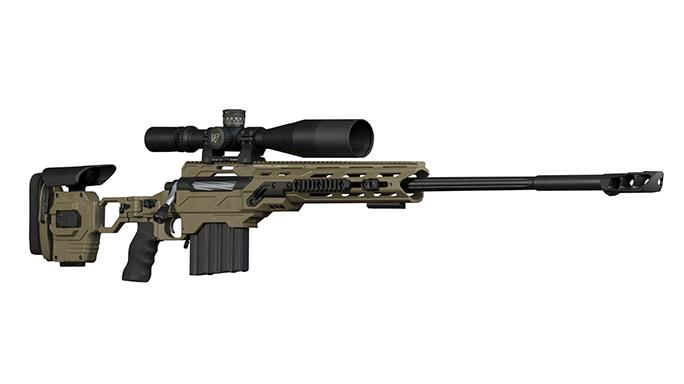 Gunwerks HAMR rifle right angle