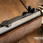 Henry 45-70 lever action rifle rear sight