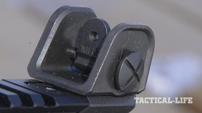 IWI Galil ACE 308 rifle rear sight