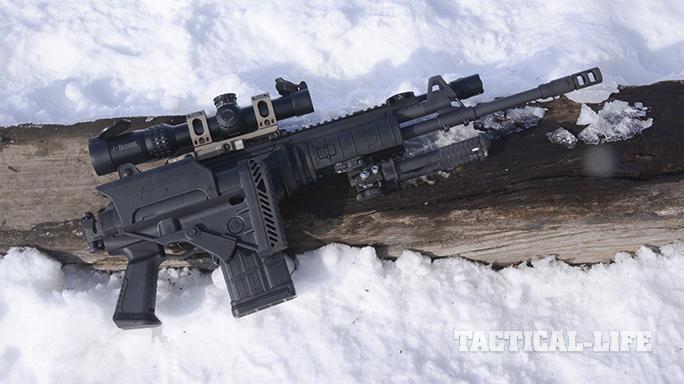 IWI Galil ACE 308 rifle folded