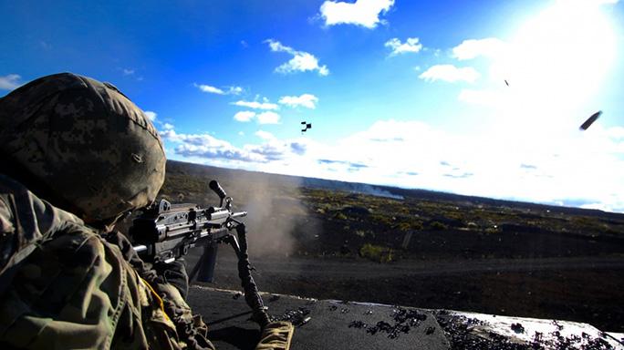 Next Generation Squad Automatic Rifle test fire