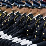 Ontario Provincial Police graduating officers