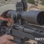 riflescope reticle aiming