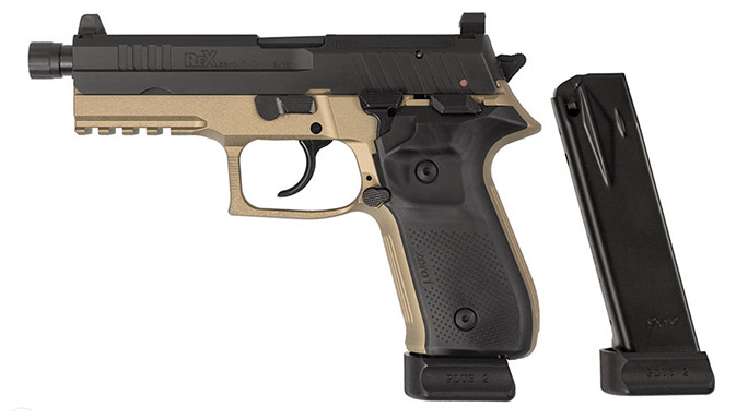 Arex Rex Zero 1T fde pistol
