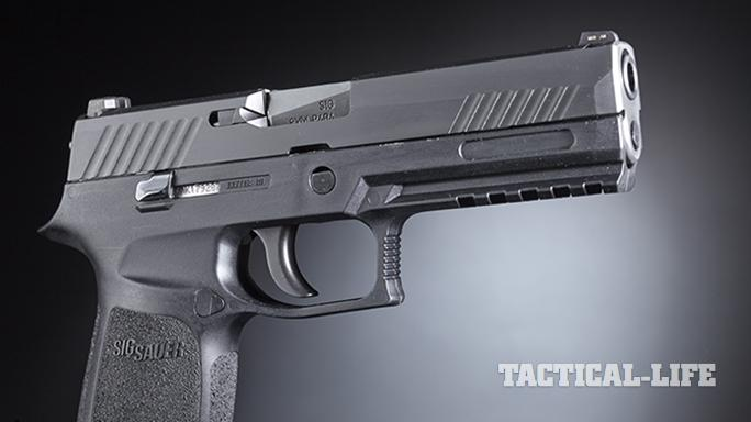 Sig Sauer P320 pistol right profile