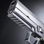 Sig Sauer P320 pistol muzzle