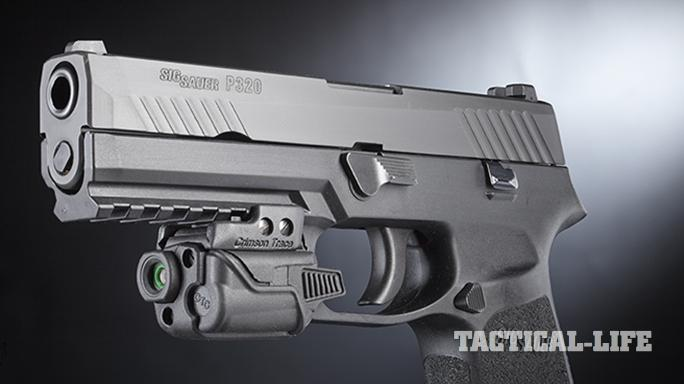 Sig Sauer P320 pistol front