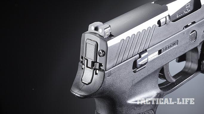 Sig Sauer P320 pistol rear sight