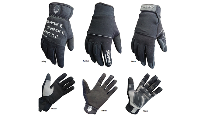 Tactical Lites gloves lineup