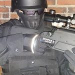 Tactical Lites gloves rifle aim