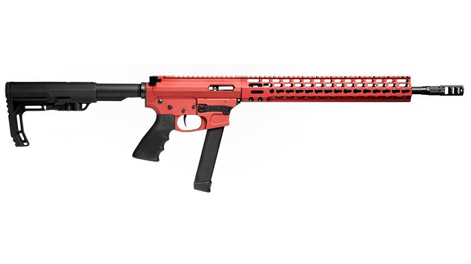 Trojan Firearms PRO9V1 carbine right profile