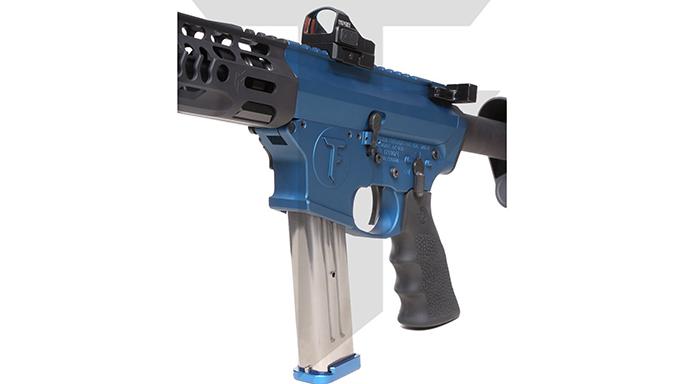 Trojan Firearms PRO9V1 carbine left angle