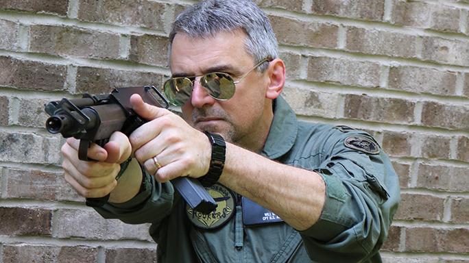 Bullpup dead Bushmaster Arm Gun lead