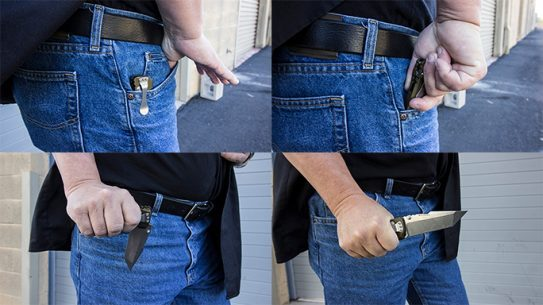 Carrying a Knife weapon EDC lead