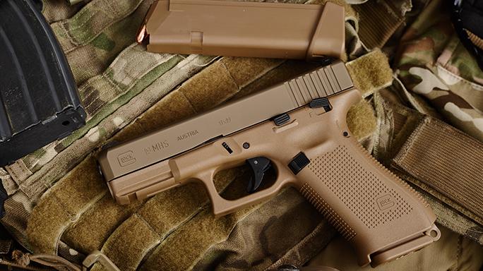 Glock 19 Pistol Army XM17 modular handgun system vest