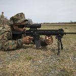 marines uber squad m27 rifle test fire