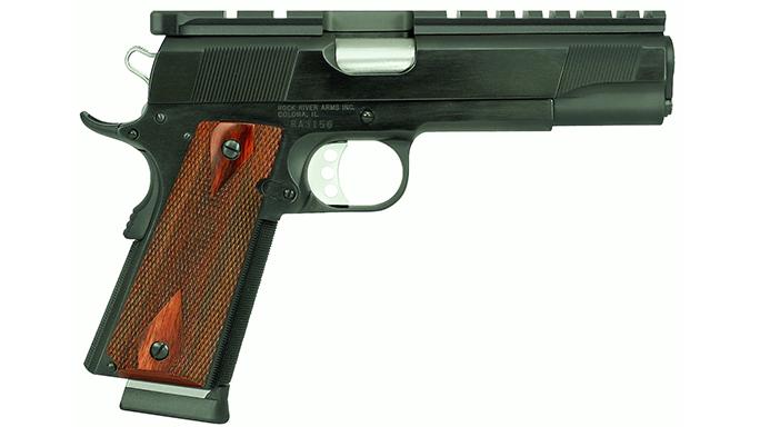 1911 pistols Rock River Arms Bullseye Wadcutter