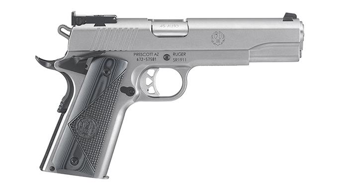 1911 pistols Ruger SR1911 Target
