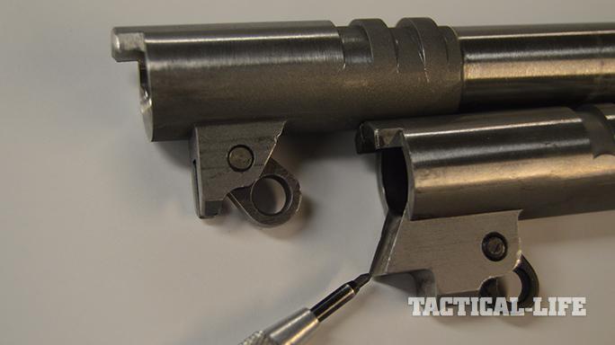 1911 Upgrades supported barrel