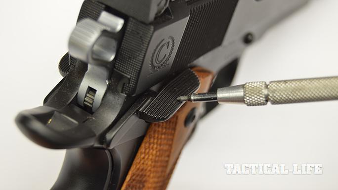 1911 Upgrades thumb safety