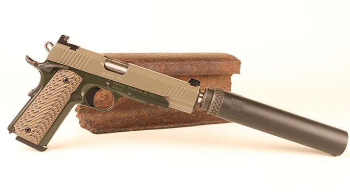 Kimber Warrior SOC (TFS) 1911 pistol