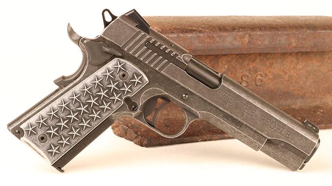 "Sig Sauer ""We the People"" 1911 pistol"