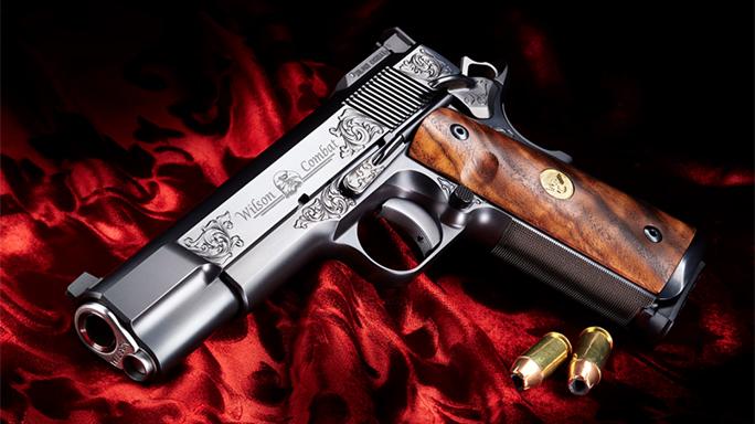 Wilson Combat Supergrade Pinnacle 1911 pistol lead