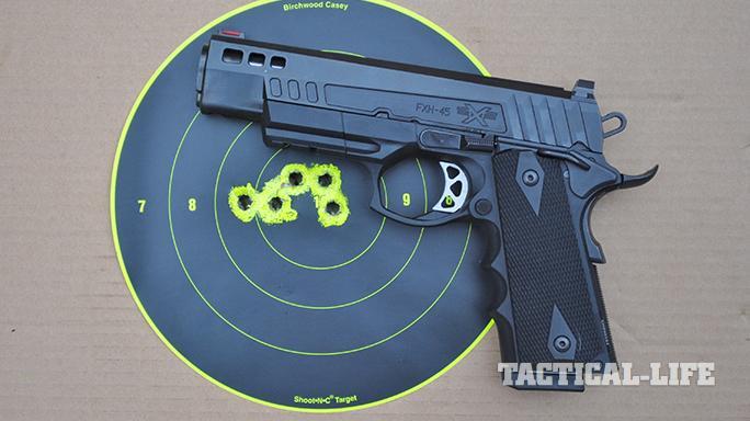 ATI FXH-45 pistol target