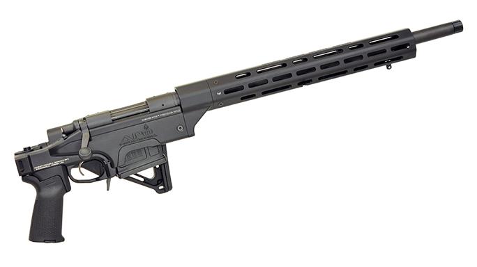 ashbury precision ordnance Saber m700 rifle folded