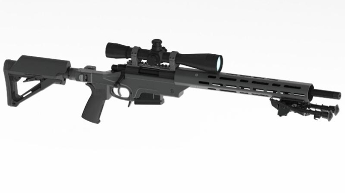 ashbury precision ordnance Saber m700 rifle accessorized