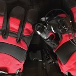 autoglove red gloves motor