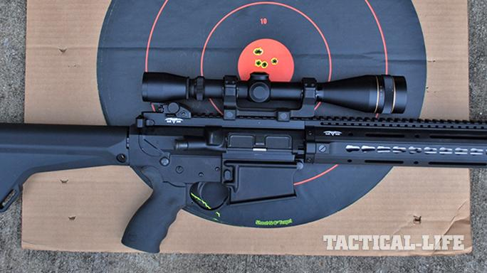 Black Dawn armory BDR-10 rifle grouping