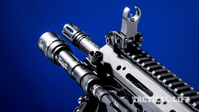 Black Dawn armory BDR-10 rifle front sight