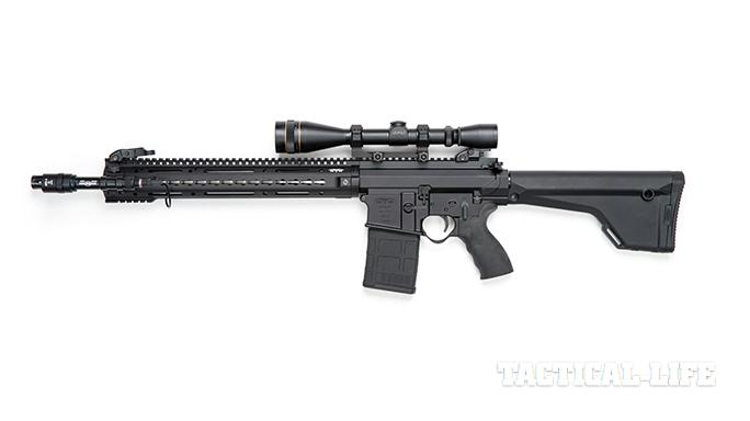 Black Dawn armory BDR-10 rifle left profile