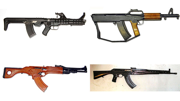 SOVIET EXPERIMENTAL WEAPONS
