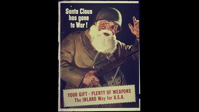 inland advisor m1 pistol wwii poster