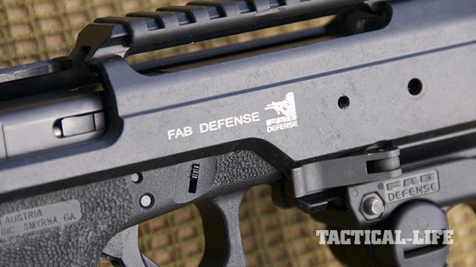 fab defense KPOS glock carbine sides